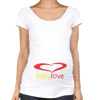 Футболка для беременных Baby Love
