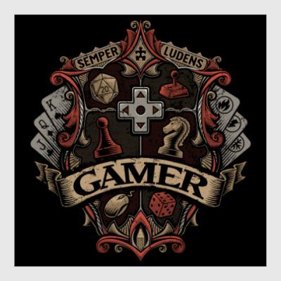 Постер Герб Геймера Gamer