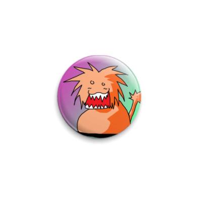 "Значок 25мм ""Lion""  25 мм"