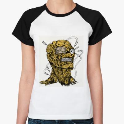Женская футболка реглан   Terminator