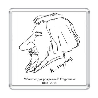 Магнит Тургенев, автошарж