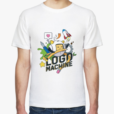 Футболка Logomachine