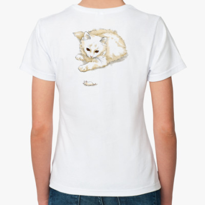 Классическая футболка кошки-мышки