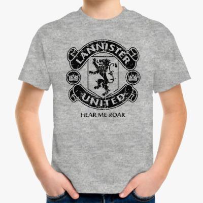 Детская футболка Игра престолов.Ланнистеры