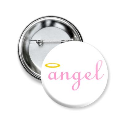 Значок 50мм Ангел