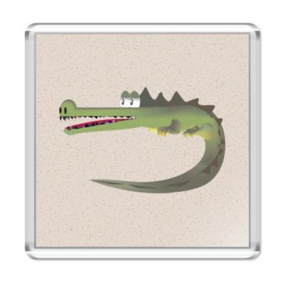 Магнит Крокодильчик :)