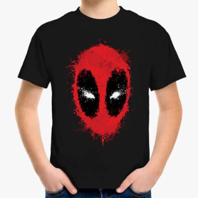 Детская футболка  Deadpool