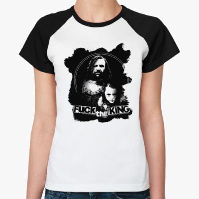 Женская футболка реглан Игра престолов. Арья Старк