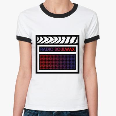 Женская футболка Ringer-T   RADIO SLWX