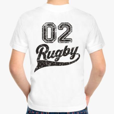 Детская футболка Регби Rugby