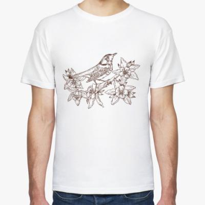 Футболка Vintage Bird Птица Винтаж