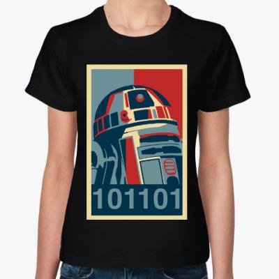 Женская футболка R2-D2