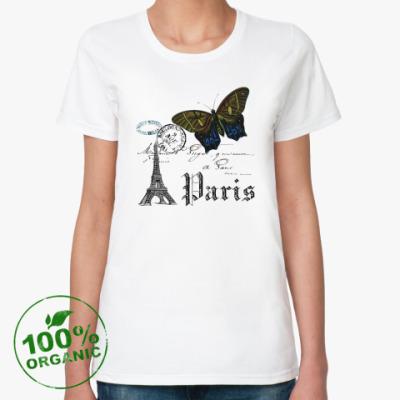 Женская футболка из органик-хлопка PARIS