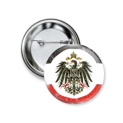 Значок 37мм Кайзеровская Империя