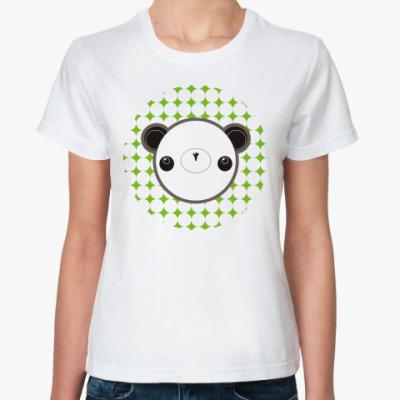 Классическая футболка 'Panda-chan'
