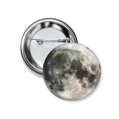 Значок 37мм Moon