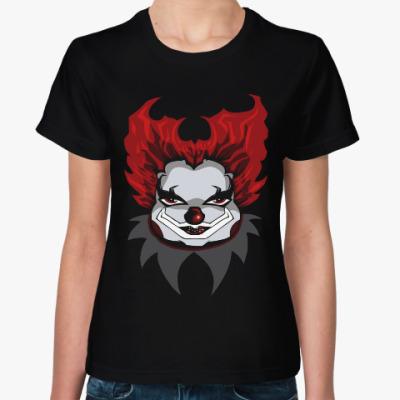 Женская футболка Клоун