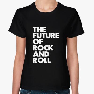 Женская футболка Будущее рока