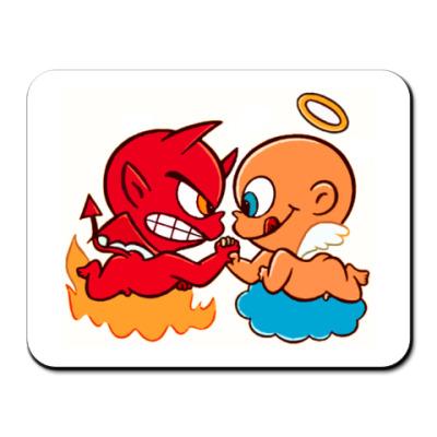 Коврик для мыши Коврик Angel&Demon
