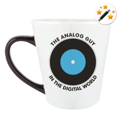 Кружка-хамелеон Analog guy