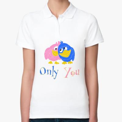 Женская рубашка поло Only you