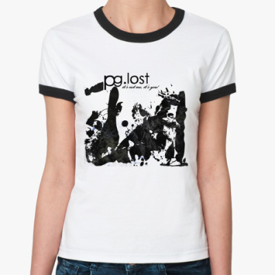 Женская футболка Ringer-T pg.lost