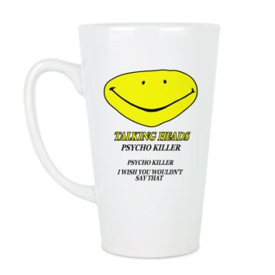 Чашка Латте Talking Heads