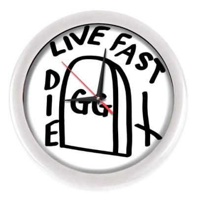 Настенные часы GG Allin: Live fast die