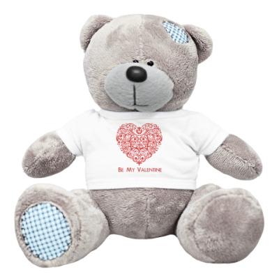 Плюшевый мишка Тедди Be My Valentine