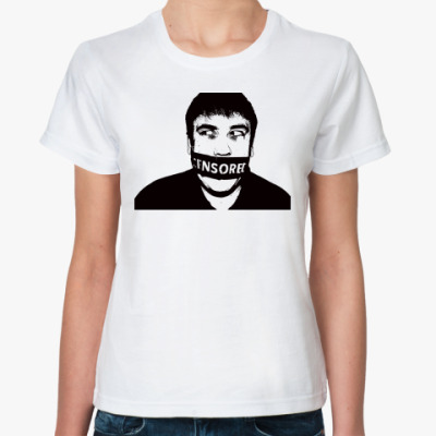 Классическая футболка CENSORED