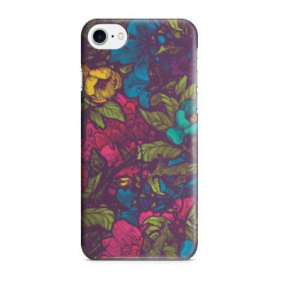 Чехол для iPhone 7/8 Цветы