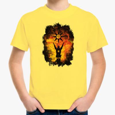 Детская футболка Praise the Sun