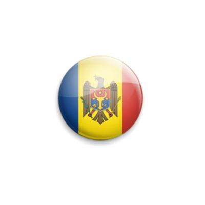 Значок 25мм Moldova