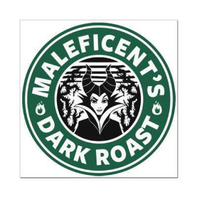 Наклейка (стикер) Maleficents Dark Roast