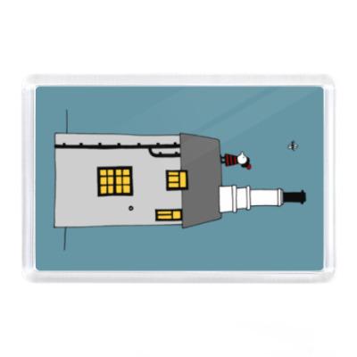 Магнит Корнуольский домик
