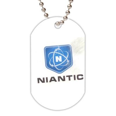 Жетон dog-tag NIANATIC