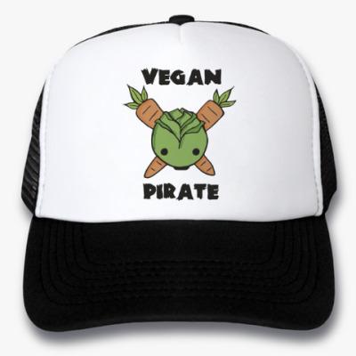 Кепка-тракер Веган пират