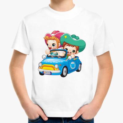 Детская футболка Шериф за рулем