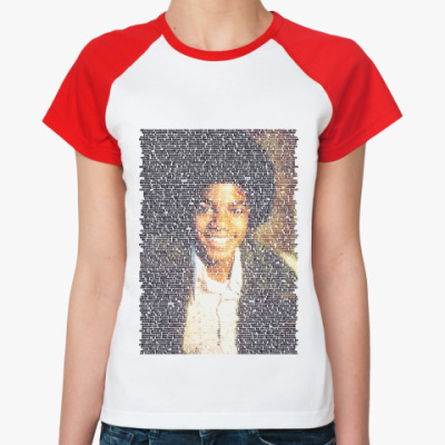 Женская футболка реглан Jackson4