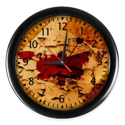 Настенные часы 'Мотылёк'
