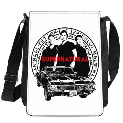 Сумка-планшет Supernatural -Сэм, Дин и Кас