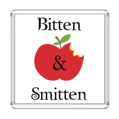 Магнит Bitten and smitten