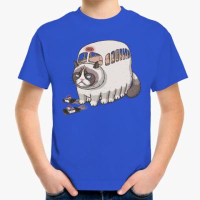 Детская футболка Угрюмый Котобус
