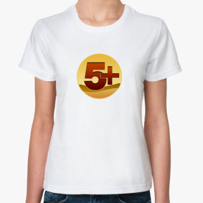Классическая футболка Five with plus