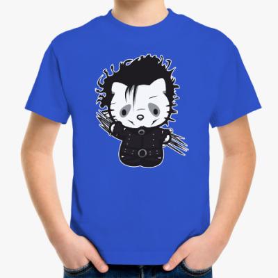 Детская футболка Китти Руки-ножницы