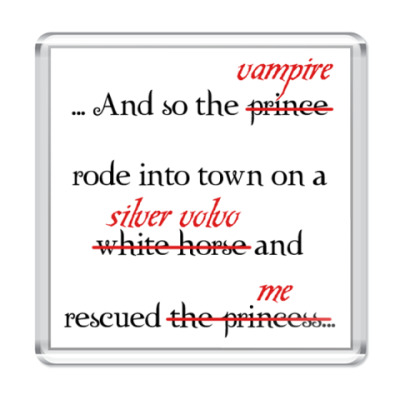 Магнит Prince or vampire?