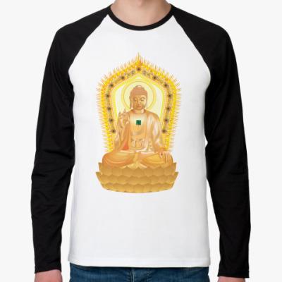 Футболка реглан с длинным рукавом Buddha