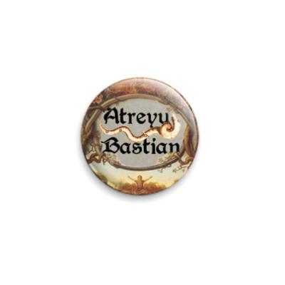 Значок 25мм  Atreyu/Bastian (OTH31)