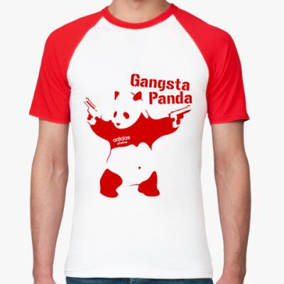 Футболка реглан Gangsta Panda
