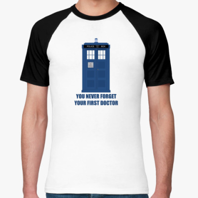 Футболка реглан Doctor Who